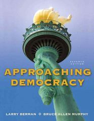 Approaching Democracy 7th edition 9780205778478 020577847X