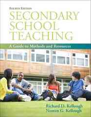 Secondary School Teaching 4th edition 9780137049776 0137049773