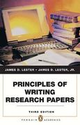 Principles of Writing Research Papers 3rd edition 9780205791828 0205791824