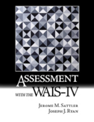 Assessment with the WAIS-IV 1st Edition 9780970267177 0970267177