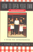 How to Open Your Own Restaurant 0 9780140147896 0140147896