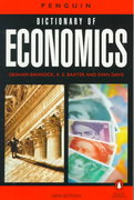 Dictionary of Economics, The Penguin 6th edition 9780140513769 0140513760