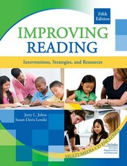 Improving Reading 5th Edition 9780757568336 0757568335