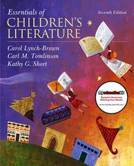 Essentials of Children's Literature 7th edition 9780137048847 013704884X