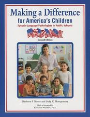 Making a Difference for America's Children 2nd Edition 9781416404187 141640418X
