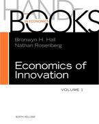 Handbook of the Economics of Innovation 1st Edition 9780080931111 0080931111