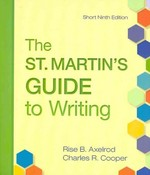 St. Martin's Guide to Writing 9e Short & e-Book 9th edition 9780312584092 0312584091