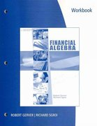 Workbook for Gerver/Sgroi's Financial Algebra 1st edition 9780538449700 0538449705