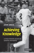 Achieving Knowledge 1st edition 9780521193917 0521193915