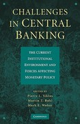 Challenges in Central Banking 1st edition 9780521199292 0521199298