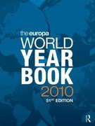 The Europa World Year Book 2010 51st edition 9781857435474 1857435478