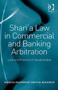 Sharia Law in Commercial and Banking Arbitration 1st Edition 9781317055631 1317055632
