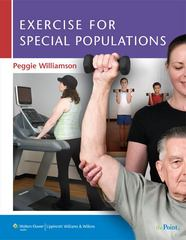 Exercise  for Special Populations 1st edition 9780781797795 0781797799