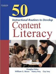 50 Instructional Routines to Develop Content Literacy 2nd Edition 9780137057191 0137057199
