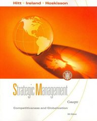 Strategic Management 8th edition 9780324581126 0324581122