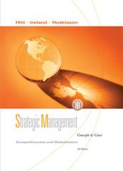 Strategic Management 8th edition 9780324655599 0324655592