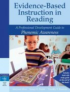 Evidence-Based Instruction in Reading 1st Edition 9780205456284 0205456286