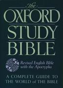 The Oxford Study Bible: Revised English Bible with Apocrypha 1st edition 9780195290011 0195290011