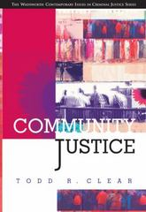 Community Justice 1st edition 9780534534097 0534534090
