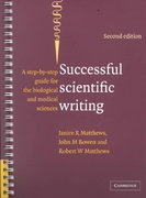 Successful Scientific Writing 3rd Edition 9780521699273 0521699274