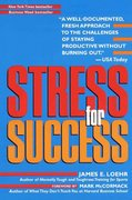 Stress for Success 1st Edition 9780812930092 0812930096