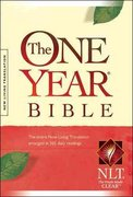 The One Year Bible Compact Edition NLT 2nd edition 9781414302522 1414302525