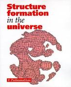 Structure Formation in the Universe 0 9780521424868 0521424860