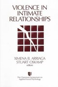 Violence in Intimate Relationships 1st edition 9780761916437 0761916431