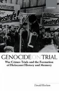 Genocide on Trial 0 9780199259045 0199259046