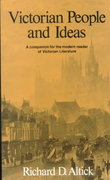 Victorian People and Ideas 1st Edition 9780393093766 039309376X