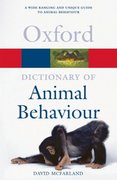 Dictionary of Animal Behaviour 1st edition 9780198607212 0198607210
