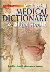 McGraw-Hill Medical Dictionary for Allied Health 1st edition 9780073510965 0073510963