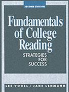 Fundamentals Of College Reading 2nd edition 9780133453492 0133453499