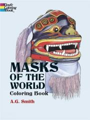 Masks of the World Coloring Book 0 9780486430393 0486430391