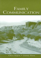 Family Communication 1st Edition 9780805847987 0805847987