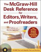 The McGraw-Hill Desk Reference for Editors, Writers, and Proofreaders(Book + CD-Rom) 1st edition 9780071470001 007147000X