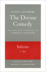 The Divine Comedy, I. Inferno, Vol. I. Part 1: Text 0 9780691018966 0691018960
