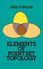 Elements of Point-Set Topology 0 9780486668260 0486668266