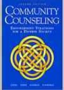 Community Counseling 2nd edition 9780534258542 0534258549