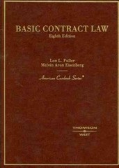 Basic Contract Law 8th edition 9780314159014 0314159010