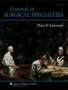 Essentials of Surgical Specialties 3rd edition 9780781750042 0781750040