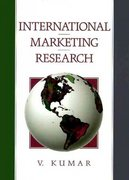 International Marketing Research 1st edition 9780130453860 0130453862