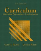 Curriculum 4th Edition 9780131715103 0131715100