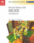 New Perspectives on Microsoft MS-DOS Command Line - Brief 2nd edition 9780619044084 061904408X