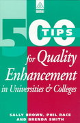 500 Tips for Quality Enhancement in Universities and Colleges 1st edition 9780749422233 0749422238
