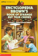 Encyclopedia Brown's Book of Strange but True Crimes 0 9780590441483 0590441485