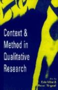 Context and Method in Qualitative Research 0 9780803976313 0803976313