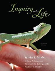 Inquiry into Life with Connect Plus Access Card 13th edition 9780077403201 0077403207