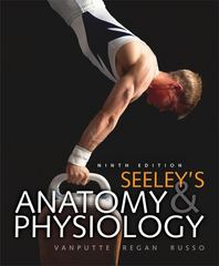 Seeley's Anatomy & Physiology with Connect Plus Access Card 9th Edition 9780077403249 007740324X