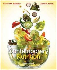 Contemporary Nutrition with Connect Plus Access Card 8th edition 9780077403287 0077403282